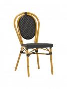 Chaise bistrot aluminium - Structure en aluminium