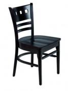 Chaise bois restaurant café