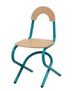 Chaise cantine acier - Maternelle