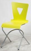 Chaise cantine appui sur table basculant - Acier