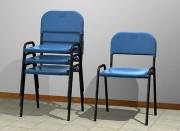 Chaise cantine empilable - Assise et dossier en polypropylène