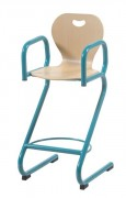 Chaise cantine haute - Maternelle