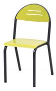 Chaise cantine monobloc - Maternelle