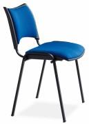 Chaise collectivité assise tissu - Assise et dossier en tissu