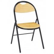 Chaise collectivité en hêtre - Assise et dossier en hêtre