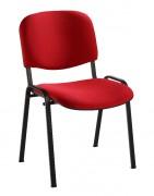 Chaise collectivité revêtement en tissu - Chaise multi usages empilables