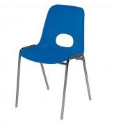 Chaise coque ajourée