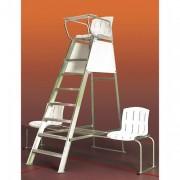 Chaise d'arbitre aluminium - Dimensions : 2.39 m x 0.75 m