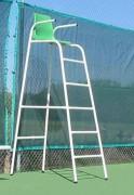 Chaise d'arbitre de tennis - Acier galvanisé ou Bois exotique