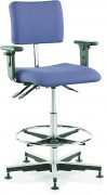 Chaise d'atelier opérateur confort - Charge maximale (kg) : 120