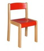 Chaise d'écolier empilable Taille 0 à 6