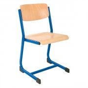 Chaise d'écolier empilable taille 6 - Dimensions(L x l) cm : 35 x 25