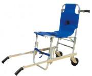 Chaise d'escalier - Dimensions : Position chaise, H. 91 x l. 52 cm.