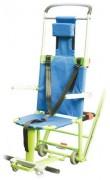 Chaise d'évacuation 4 roues - Capacité de charge maximale : 160 kg