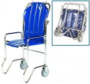 Chaise d'évacuation pliable 2 roues