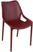 Chaise d'extérieur en polypropylène - Large gamme de couleurs tendances
