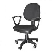Chaise dactylo avec accoudoirs - Pivotant à 360°