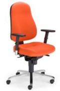 Chaise de bureau dactylo - Dossier réglable en hauteur