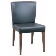 Chaise de café restaurant en acier