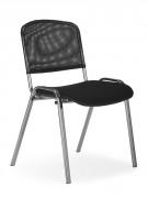 Chaise de collectivité avec dossier en résille - Profondeur d'assise : 410 mm - Largeur d'assise : 470 mm