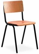 Chaise de collectivité en bois empilable - Conforme EN 1729-1 - Taille 6