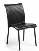 Chaise de collectivité monobloc - Dimensions en cm : 46,5 x 86 x 58,5 cm
