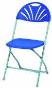 Chaise de collectivités en polypropylène - Structure en acier