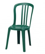 Chaise de jardin en plastique - Hauteur (mm) : 880