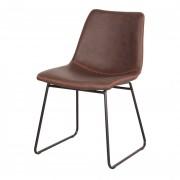 Chaise de restaurant en similicuir - Chaise de restaurant de style Mid Century en similicuir