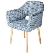 Chaise de restaurant en textile - Dimensions : 63 x 64 x 84 cm