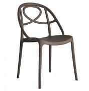 Chaise de restaurant en textilène - Structure Aluminium