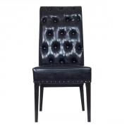 Chaise de restaurant rembourrée - Dimensions : H 101 x L 48 x P 63 cm