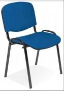Chaise de réunion tissu iso - Différentes finitions de structures disponibles