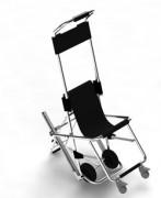 Chaise de secours - Skid chaise d'évacuation silver avec 4 roues réf SK20000E