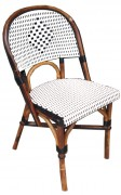 Chaise de terrasse en rotin Hauteur 93 cm