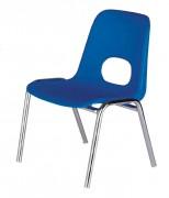 Chaise empilable pour enfants - Hauteur (mm) : de 260 à 340
