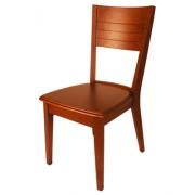 Chaise en bois exotique pour restaurant - Bois exotique