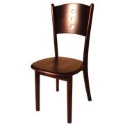 Chaise en bois exotique restaurant