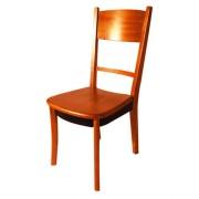 Chaise en bois pour restaurant - Chaise en bois exotique