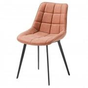 Chaise en cuir synthétique - Matière: cuir synthétique, bois ou métal