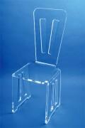 Chaise en plexi - Plexiglas épaisseur 15mm