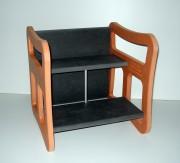 Chaise enfant bois multifonction - Dim : 40 x 40 x 40 cm   -  Pour enfants de 6 à 60 mois