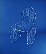 Chaise enfant plexi - Assise 35 x 35 cm