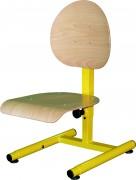 Chaise essentiel HV classique - Hauteur réglable de 300 à 500 mm