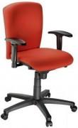 Chaise fauteuil à roulette - Hauteur d'assise : 40-55  cm - Hauteur totale : 92-107  cm
