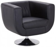 Chaise fauteuil carré - Hauteur d'assise : 45 cm - Hauteur totale : 72  cm