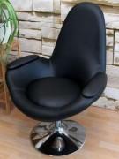 Chaise fauteuil enveloppant - Hauteur d'assise :  45  cm - Hauteur totale : 99 cm