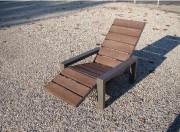 Chaise longue jardin - Longueur (cm) : 150