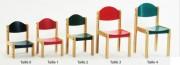 Chaise maternelle bois de hêtre massif