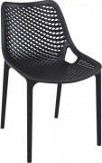 Chaise plastique terrasse - Hauteur : 82 cm - Profondeur : 60 cm